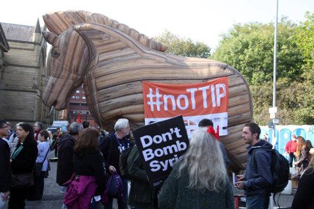 TTIP Trojan Horse comes to Manchester.